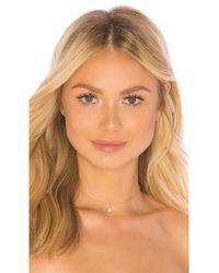 Natalie B. Jewelry - Odessa Drop Choker In Metallic Gold. - Lyst