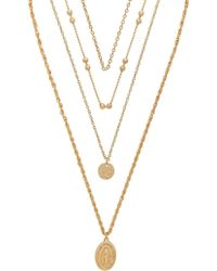 8 Other Reasons - Hail Mary Necklace - Lyst