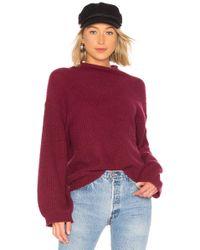 White + Warren - Standneck Sweater - Lyst