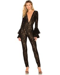 b4f4a439546 Lyst - Women s Michael Costello Jumpsuits Online Sale