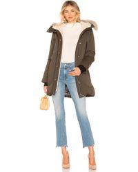 SOIA & KYO - Saundra Jacket With Fur Trim - Lyst