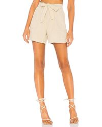 Sanctuary - Muse Tie Waist Short In Tan - Lyst