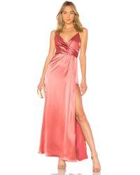 JILL Jill Stuart - Wrap Gown - Lyst