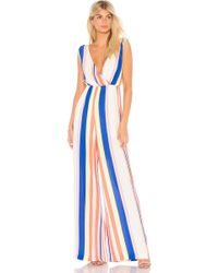 Line & Dot - Rory Jumpsuit In Pink - Lyst