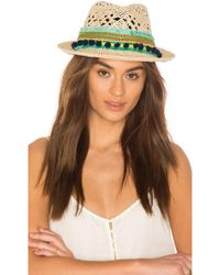Poupette - Caline Hat In Tan. - Lyst