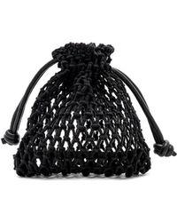 Clare V. - Drawstring Sandy Bag In Black. - Lyst