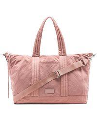 Rebecca Minkoff - Washed Nylon Weekend Bag In Pink. - Lyst