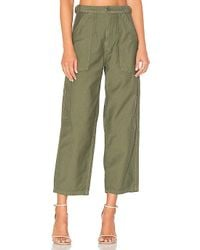 Citizens of Humanity - Kendall Wide Leg In Green - Lyst