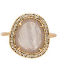 Melanie Auld - Stone Slice Ring - Lyst