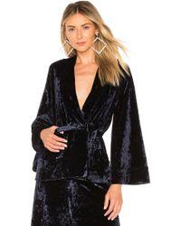 Likely - Leslie Velvet Kimono - Lyst