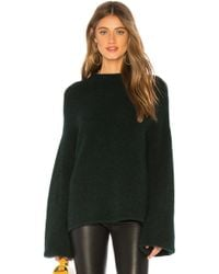 MILLY - Cloud Volume Sleeve Sweater - Lyst