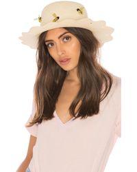 Mercedes Salazar - Colmena De Abejas Hat - Lyst