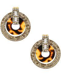 Elizabeth Cole - Linnea Earrings In Metallic Gold. - Lyst
