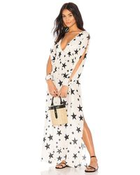 Chaser - Starry Maxi Cover Up In White - Lyst