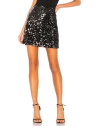 Sanctuary - Ready For The Night Sequins Mini Skirt In Black - Lyst