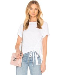 Stateside | Ruched Tee | Lyst