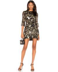 MESTIZA NEW YORK - Lucia Ruffled Mini Dress - Lyst
