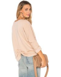 Monrow - French Terry Top - Lyst
