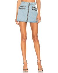 Urban Outfitters - City Slicker Skirt - Lyst