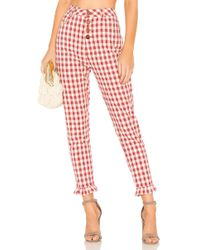 Capulet - Etoile Pant In Red - Lyst