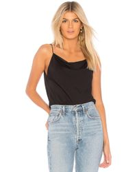 Theory - Evening Slip Cowl Tank - Lyst