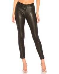 PAIGE - Verdugo Leather Pant - Lyst