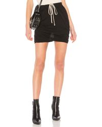 DRKSHDW by Rick Owens - Buds Skort In Black - Lyst