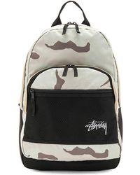 Stussy - Stock Desert Camo Backpack - Lyst