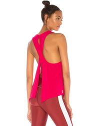 Alala - Flyback Tank In Pink - Lyst