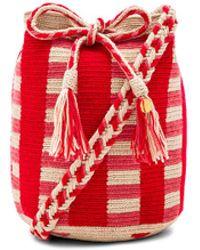Guanabana - Medium Stripe Bucket Bag - Lyst