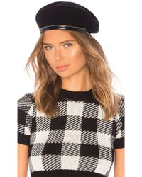 Don - Chained Beret In Black - Lyst