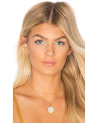 Joolz by Martha Calvo - Saint Benedict Double Choker In Gold. - Lyst