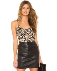 ATM - Silk Cami In Brown - Lyst