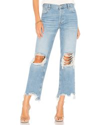 Free People - Maggie Straight Jean - Lyst