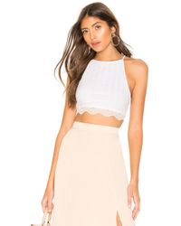 9bc3c029c354e1 Free People Love Her Madly Top in White - Lyst
