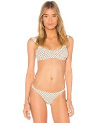 Made By Dawn - Petal Bikini Top - Lyst
