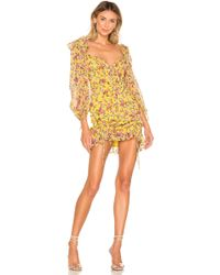 For Love & Lemons - Beaumont Mini Dress - Lyst