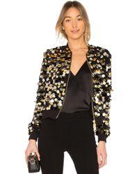 Rachel Zoe - Emilia Jacket In Metallic Gold - Lyst