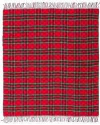 Stussy Double Faced Stadium Blanket In Red.
