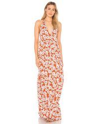 Acacia Swimwear - X Revolve Samba Maxi Dress In Rust - Lyst