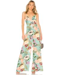 Amanda Uprichard - Sunrise Jumpsuit - Lyst