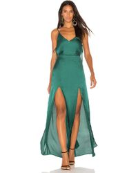 Capulet - X Revolve Gina Plunging Maxi Dress - Lyst