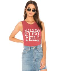 Spiritual Gangster - Gypsy Child Muscle Tank - Lyst