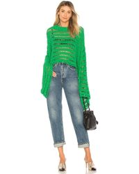 Free People - Caught Up Crochet Top - Lyst