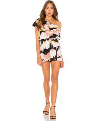 Cupcakes And Cashmere - Arnett Romper In Black - Lyst
