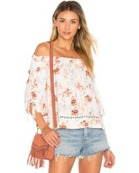 MINKPINK - Innocence Off Shoulder Top - Lyst