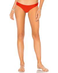 Acacia Swimwear - Ho Okipa Mesh Bikini Bottom In Red - Lyst