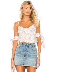 Somedays Lovin - Young & Restless Crop Top In White - Lyst