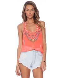 6 Shore Road By Pooja - Nuri Beaded Top - Lyst