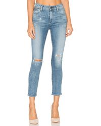 Citizens of Humanity - Rocket High Rise Crop Skinny - Lyst